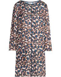 Day Birger et Mikkelsen - Printed Satin Mini Dress - Lyst