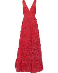Notte by Marchesa - Embellished Tulle Gown - Lyst
