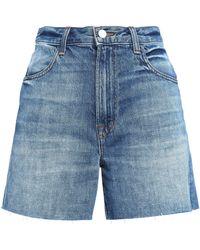 J Brand - Joan Faded Denim Shorts - Lyst
