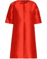 Raoul - Silk-blend Duchesse-satin Mini Dress - Lyst