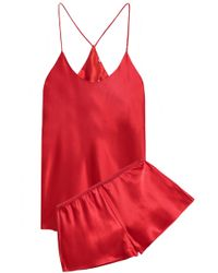 Olivia Von Halle - Silk-satin Pyjama Set - Lyst