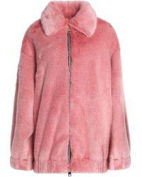 Ainea - Faux Fur Jacket - Lyst
