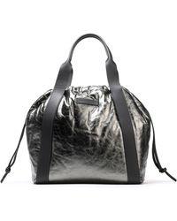 Brunello Cucinelli - Metallic Leather Tote - Lyst