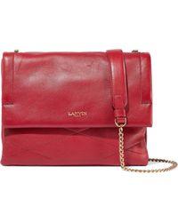 Lanvin - Sugar Quilted Leather Shoulder Bag - Lyst
