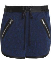 3.1 Phillip Lim - Satin-trimmed Floral-jacquard Shorts - Lyst