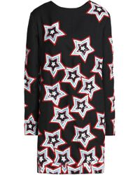 House of Holland - Embellished Crepe Mini Dress - Lyst