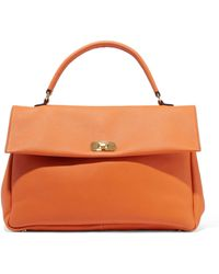 Marni - Pebbled-leather Tote - Lyst