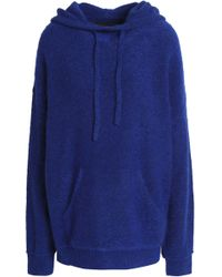 By Malene Birger - Woman Knitted Hooded Sweater Royal Blue - Lyst
