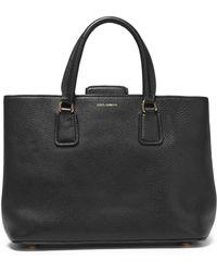 Dolce & Gabbana - Pebbled-leather Shoulder Bag - Lyst
