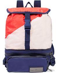 b839707964ce adidas By Stella McCartney - Run Convertible Mesh-paneled Color-block Shell  Backpack -