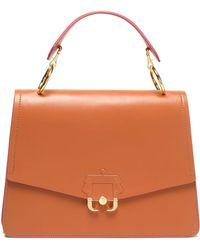 Paula Cademartori - Embossed Leather Shoulder Bag - Lyst