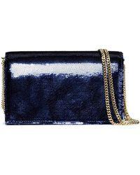 Diane von Furstenberg - Sequined Leather Shoulder Bag - Lyst