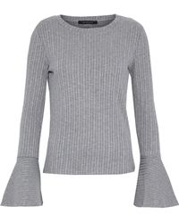 W118 by Walter Baker - Ribbed-knit Top - Lyst