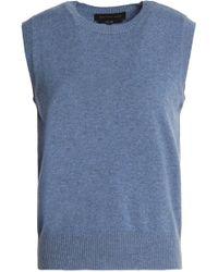 Vanessa Seward - Mélange Cashmere Sweater Light Blue - Lyst