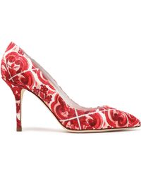 Dolce & Gabbana - Printed Jacquard Court Shoes - Lyst