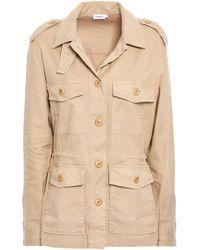 Filippa K - Peyton Linen-blend Jacket Sand - Lyst