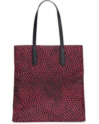 Diane von Furstenberg - Leather-trimmed Shell Tote - Lyst