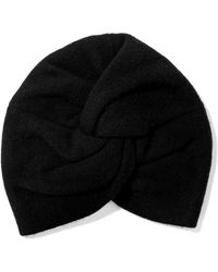 Madeleine Thompson - Janice Twisted Wool And Cashmere-blend Beanie - Lyst