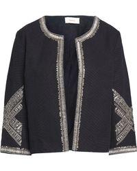 Ba&sh - Embellished Cotton-canvas Jacket - Lyst