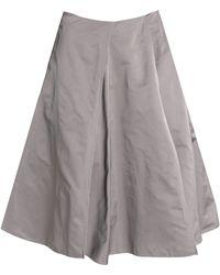 Jil Sander - Pleated Shell Skirt - Lyst