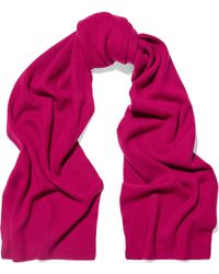 N.Peal Cashmere - Ribbed Cashmere Scarf - Lyst