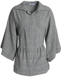 Opening Ceremony - Prince Of Wales Checked Woven Shirt - Lyst