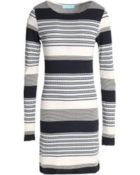 Melissa Odabash - Striped Knitted Coverup - Lyst