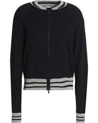 Autumn Cashmere - Quilted Cotton-blend Bomber Jacket - Lyst