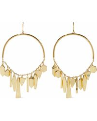 Noir Jewelry - Shapeshifter 14-karat Gold-plated Earrings - Lyst