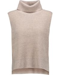 Magaschoni - Ribbed Wool And Cashmere-blend Turtleneck Sweater - Lyst