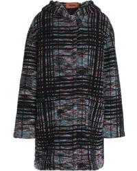 Missoni - Wool-blend Bouclé Hooded Coat - Lyst