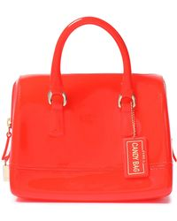 Furla - Candy Mini Pvc Tote Tomato Red - Lyst