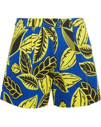 Boutique Moschino - Printed Cotton-blend Shorts - Lyst