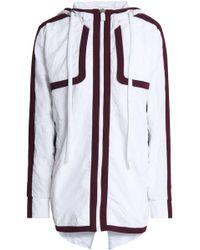 NO KA 'OI - Crinkled Shell Hooded Jacket - Lyst