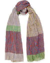 Tomas Maier - Striped Cotton Scarf - Lyst