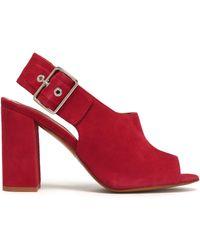 Claudie Pierlot - Suede Sandals - Lyst