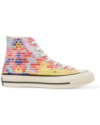 Converse - + Mara Hoffman Chuck Taylor All Star '70 Embroidered Canvas High-top Trainers - Lyst