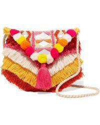 Antik Batik - Frika Embellished Cotton Shoulder Bag - Lyst