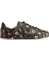 Schutz - Chayton Floral-print Leather Sneakers - Lyst