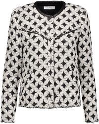 IRO - Handi Cotton-blend Bouclé-tweed Jacket - Lyst
