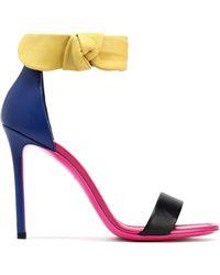Emilio Pucci - Color-block Leather Sandals - Lyst