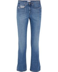 Sonia Rykiel - Mid-rise Straight-leg Jeans Mid Denim - Lyst