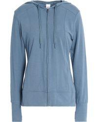 Calvin Klein - Printed Cotton-blend Jersey Hooded Sweatshirt - Lyst