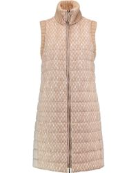Missoni | Crochet-knit And Quilted Shell Gilet | Lyst