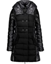 Duvetica - Callipatira Quilted Paneled Shell And Twill Hooded Down Coat - Lyst