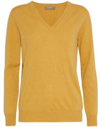 N.Peal Cashmere - Mélange Cashmere Sweater - Lyst
