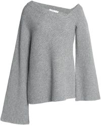 A.L.C. - Ribbed-knit Wool And Cashmere-blend Jumper - Lyst
