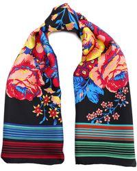 Diane von Furstenberg - Floral-print Silk-satin Scarf - Lyst