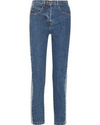 Paul & Joe - Clamecy Paneled Slim Boyfriend Jeans - Lyst