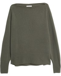 Vince - Cashmere Sweater Army Green - Lyst
